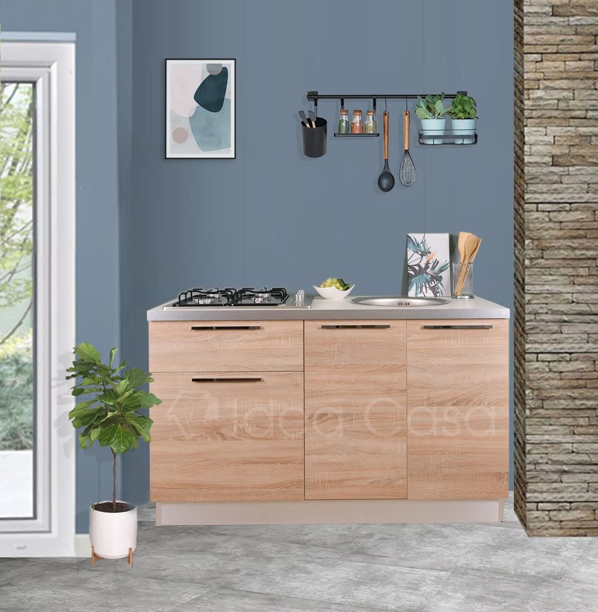 Base Mini Cucina Emy 140 Cm V3 Idea Casa Arredamenti