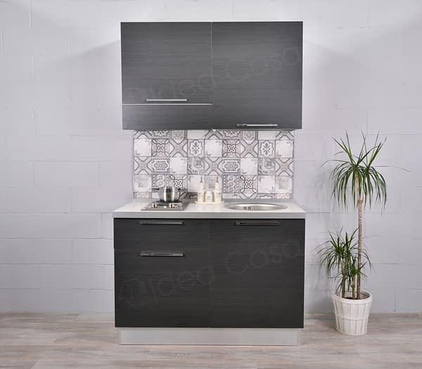 Mini Cucina Emy 120 Cm Senza Piano Cottura Idea Casa Arredamenti